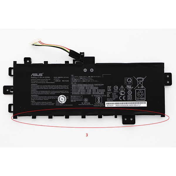 Laptop battery for Asus Vivobook S17 S712FA