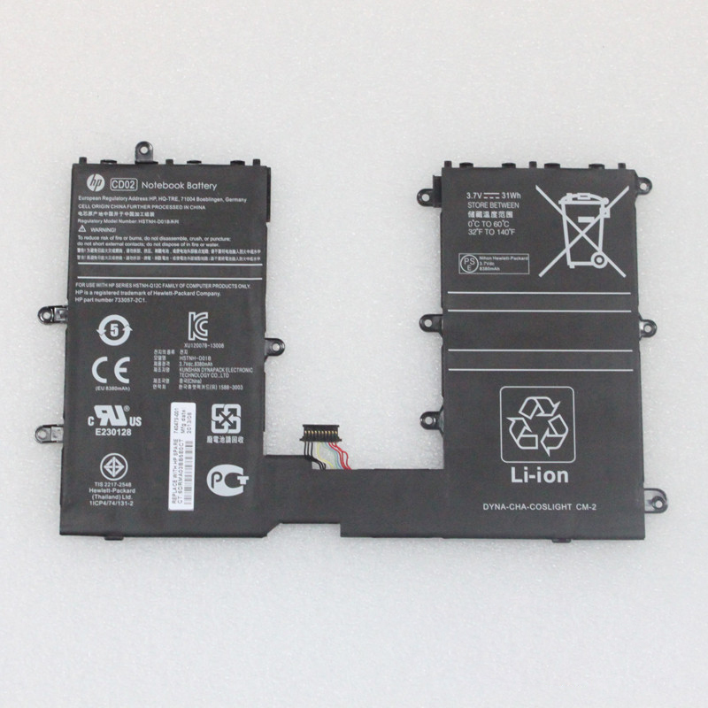 laptop battery for HP 740479-001