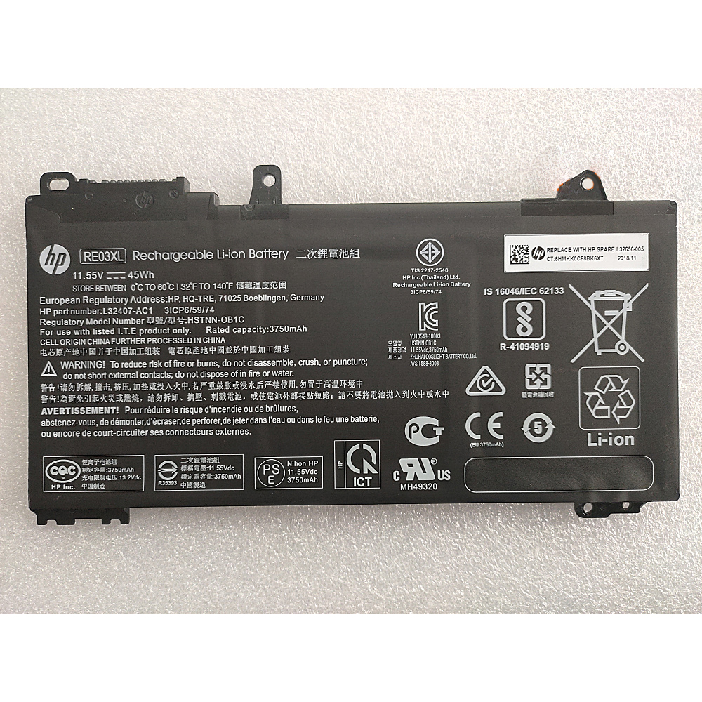 laptop battery for HP Probook 430 G6