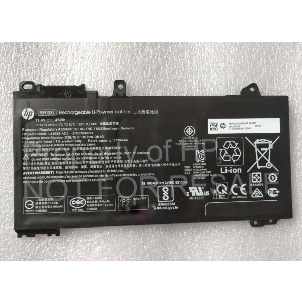 laptop battery for HP L84354-005
