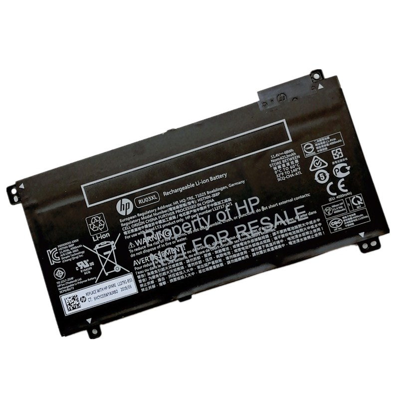 RU03XL Notebook Battery